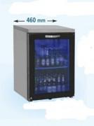 Arrière-bar réfrigérée modulaire à portes - 3 portes vitrées - 0° +8°C - 80 à 140 Kg