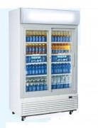 Arrmoire réfrigérée à boissons froid positif - 1000 / 970 litres - 650 W - portes coulissantes