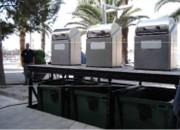 Ascenseur pour conteneur roulant - Capacités : 1300 L - 2000 L par conteneur