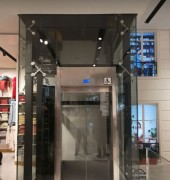 Ascenseur pour immeubles de bureaux conforme norme PMR - Ascenseur électrique charge utile 375 à 1000 kg
