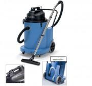 Aspirateur à eau à pompe à commande manuelle - Puissance moteur : 2400W - Capacité utile eau : 70 litres