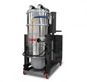 Aspirateur industriel ATEX à air comprimé - Protection du filtre contre les matières abrasives