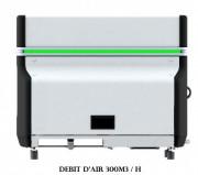 Aspirateur brouillard d'huiles - Débit d'air (m3/h) : 300 - 600 - 900 – 1200