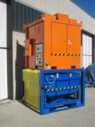 Aspirateur centralisé poussiere - Capacité de collecte à partir de 500 L
