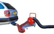 Aspirateur de gaz d'échappement à flexible - Aspiration