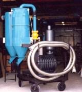 Aspirateur de meulage - Bac récupérateur avec cyclone séparateur
