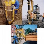 Aspirateur de terre et gravats - Puissance hydraulique nécessaire : 100 litres d'huile/min à 300 bar