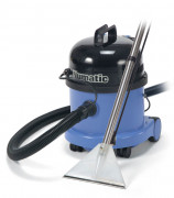 Aspirateur eau et poussières sols moquettes - Puissance moteur : 1200W - Capacité (à sec / eau) : 9L / 15L
