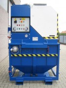 Aspirateur électrique triphasé industriel - Capacité de collecte : 500 L à 1000 L