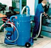 Aspirateur huile industriel - Energie triphasée ou pneumatique