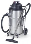 Aspirateur industriel à 2 moteurs - Capacité : 80 L - Puissance moteur : 2400 W