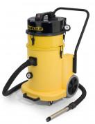 Aspirateur industriel à filtration absolue - Moteur : 2400W - Volume d'air : 80L/sec.