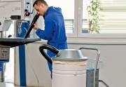 Aspirateur industriel pour poussières sèches - Espace stockage poussières : 80 L