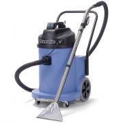 Aspirateur injection extraction grande capacité - Puissance moteur : 2400W - Capacité 40 L (poussières) / 32 L (eau)