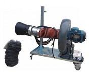 Aspirateur mobile de gaz d'échappement - Tension : 400V tri ou 230 tri