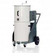 Aspirateur monophasé pour poussières sèche - Traite Poussières, copeaux et fumées - Capacité : 80 L - 720 m3/h
