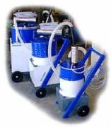 Aspirateur pneumatique liquide et copeaux - Aspiration : 250L/min  -  Tuyau Ø40 base eau
