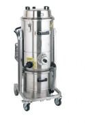 Aspirateur pneumatique pour déchets secs et humides - Puissance: 6 bars