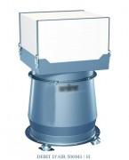 Aspirateur pour brouillard d'huile - Débit d'air (m3/h) : 500 - 1000m - 2500