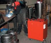 Aspirateur pour fumée de soudure 1.0 Kw - Extraction et nettoyage des fumées de soudure