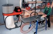Aspirateur pour poussières de bois sciures - Extraction d'émissions polluantes