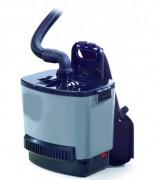 Aspirateur poussière dorsal - Moteur : 1100W  -  Volume d'air : 40L/sec
