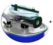 Aspirateur professionnel vidangeur pneumatique - Consommation d'air : 42m3/h   -   Débit : 160 ou 162 m3/h