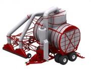 Aspirateurs a deux tetes - Pour la tourbe horticole (moins de 10 lb/pi3 ou 160 kg/m3)