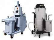 Aspirateurs électriques triphasés - Capacité de collecte des liquides : 70 L à 600 L