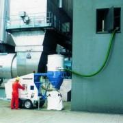 Aspiration industrielle mobile - Puissance : 42 Kw en diesel - Moteur auxiliaire 37 Kw en électrique