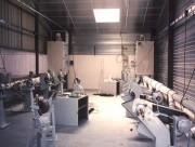 Aspiration industrielle poussière 2000 m3h - Pression :350 mmCE - Extracteur: 22 kW
