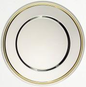 Assiette Inox de présentation 32 cm - 383014