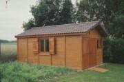 Atelier jardin en béton aspect Bois - La gamme BREDOL Béton aspect Bois
