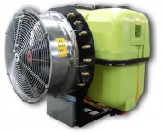 Atomiseur porté - Volume de la cuve : 300, 500 ou 800 L - Débit de la pompe: 81 L / Min