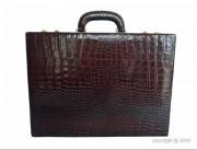Attache case de luxe en cuir