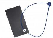 Attache étiquette à fermeture manuelle - Longueur (mm) : 120 ou 200