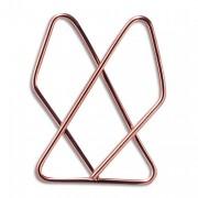 Attache lettres géante en acier nickelé,47x5m, boîte de 100 - Maped