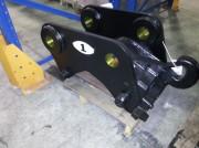 Attache rapide en acier moulé pour pelles 4 à 9 tonnes - Attaches engins chantier version mécanique ou hydraulique