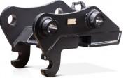 Attache rapide hydraulique pour pelle chantier 30 à 40 tonnes - Possibilité montage 360° pour inclinaison des godets