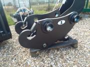 Attache rapide pour pelle chantier 16 à 26 tonnes - Attaches engins à reprise de godet sans modification