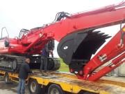 Attache rapide pour pelle hydraulique 23 à 42 tonnes - Attaches largeur entre crosses godets 560/700 mm