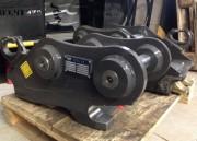 Attache rapide réversible pelles chantier 5 à 12 tonnes - Coupleurs à godet réversible
