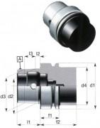 Attachment cône HSK forme E - HSK Forme E