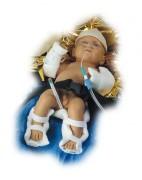 Attelle modelable pédiatrique - Pour : Avant-bras - Bras complet - Jambe - Jambe complète