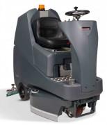 Autolaveuse autoportée à conducteur - Capacité : 120 L - Diamètre de brosse : 3 x 300 mm