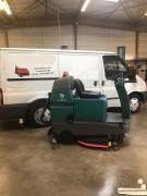 Autolaveuse autoportée d'occasion 110 L - Largeur de nettoyage : 800 mm