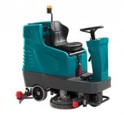 Autolaveuse mécanique à conducteur -  Largeur de nettoyage avec brosse : 650 mm