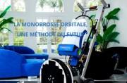 Autolaveuse monobrosse orbitale - Remise en état et entretien des sols marbres sans chimie