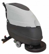 Autolaveuse tractée à chargeur intégré occasion - Largeur de travail : 50 cm