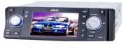 Autoradio DIVX DVD MP3 CD FM USB SD MMC écran motorisé 3.6pouces - Réf: DVD760